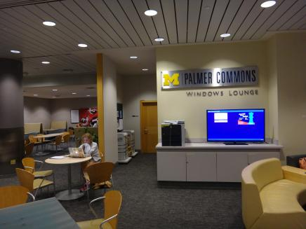 Palmer Commons Windows Lounge