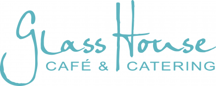 glass house cafe and catering's logo