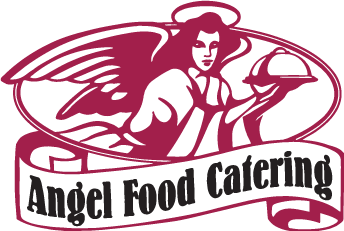 angel food catering's logo